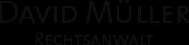 Rechtsanwalt David Müller Logo